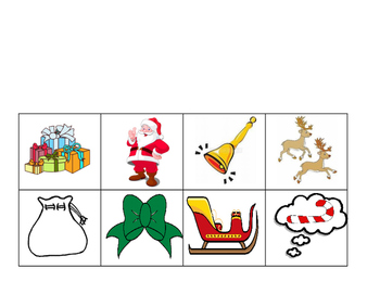 There was an Old Lady who Swallowed a Bell Sequence Activity - Holiday Christmas