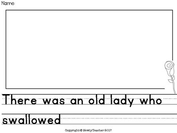 Old Lady who Swallowed a Rose