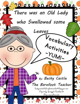 There was an Old Lady who Swallowed some Leaves -building