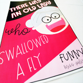There Was an Old Lady who Swallowed a Fly Activities