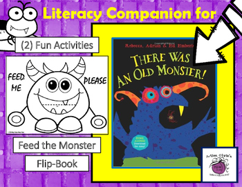 There was an Old Monster Literacy Companion  Vocab Fun  Halloween