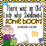 There was an old Lady Who Swallowed A Book- Sub Tub Mini Unit