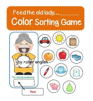 There was an old lady who swallowed a Color (Color Sorting Game)