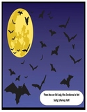 There was an old lady who swallowed a bat HALLOWEEN early literacy FULL 3WK UNIT