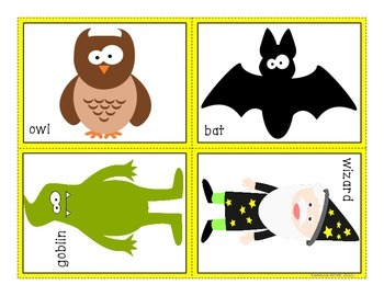 Halloween Reading - There was an old lady who swallowed a bat