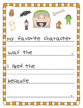 There was an old lady who swallowed a bat writing activity