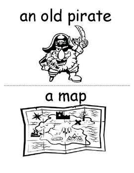 There was an old pirate who swallowed a map vocabulary workbook