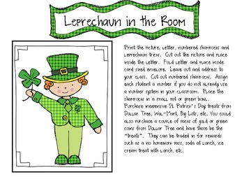 There's A Leprechaun in our Room:  A St. Patrick's Day Tradition and Much More!