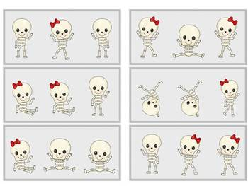There's NO Bones About It! Visual Discrimination Packet wi