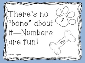 There's No Bones About It--Numbers are Fun!