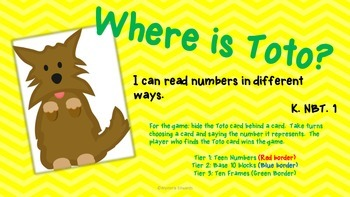 There's No Place Like Kindergarten! Common Core Aligned Centers