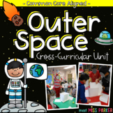 Outer Space Unit - Science, Math & Literacy Centers Activities