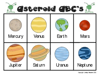 There's No Place Like Space - Literacy Centers That Are Out Of This World!