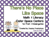 There's No Place Like Space ~ Math & Literacy Centers for PreK & Kindergarten