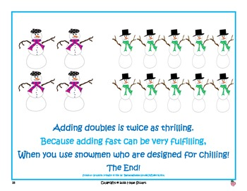 There's Snow One Who Can Add Like We Can: Learning Doubles w/ Super Cool Snowmen