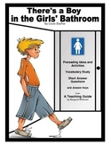 There's a Boy in the Girls' Bathroom Prereading, Vocabulary, SAQ