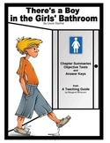 There's a Boy in the Girls' Bathroom  Chapter Summaries and Objective Tests