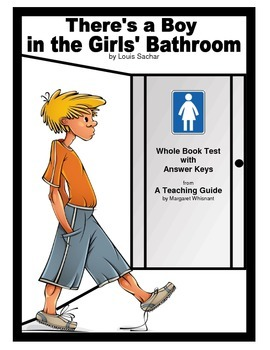 There's a Boy in the Girls' Bathroom     Whole Book Test