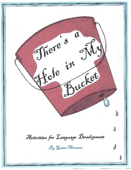 There's a Hole in My Bucket Activity Pack