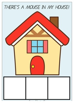 There's a Mouse in my House! Sight Word Game - HUGE SET of
