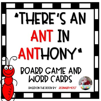 There's an Ant in Anthony Board Game