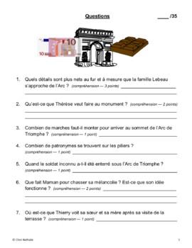 Thérèse and Thierry Visit Paris (5 original stories + activities)