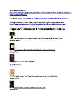 Theresienstadt Ghetto and Suggested Reading