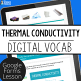 Thermal Conductors and Insulators Digital Vocabulary | Dis