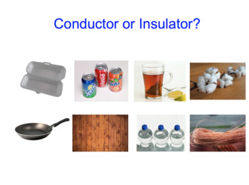 Thermal Conductors and Insulators SMART notebook presentation