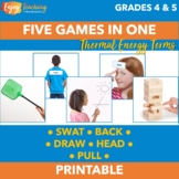 Thermal Energy Activities - Five Heat Review Games in One