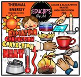 Thermal Energy Clip Art Bundle  {Educlips Clipart}