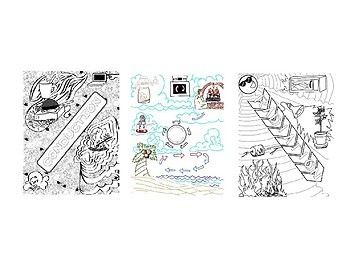 Thermal Energy Coloring Sheets