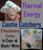 Thermal Energy Activity: Convection, Conduction & Radiation Cootie Catcher Game