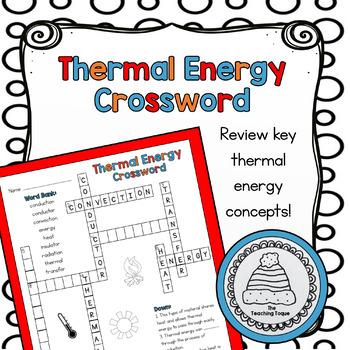 Thermal Energy Crossword