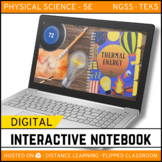 Thermal Energy DIGITAL NOTEBOOK - Google Classroom