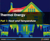 PPT - Thermal Energy: Heat, Temperature + Student Notes -