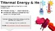 Thermal Energy, Heat and Temperature PowerPoint