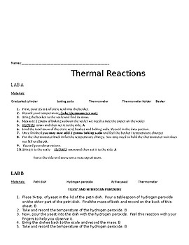 Thermal Energy Lab
