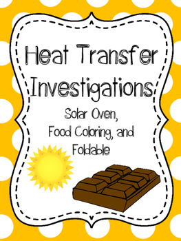 Thermal Energy Labs, Heat Transfer Investigation, Heat Interactive Notebook,