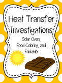Heat Transfer, Convection, Conduction, Radiation Investigations