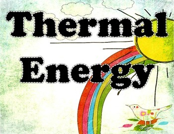 Thermal Energy Unit Learning Objective Posters