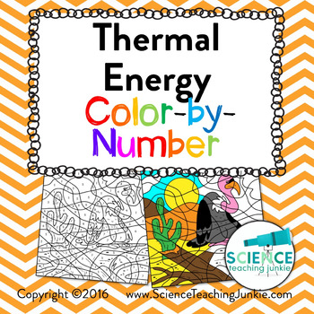 Thermal Energy: Methods of Heat Transfer Color-by-Number TEKS 6.9A & TEKS 6.9B