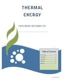 Thermal Energy Student Note Taking Booklet for Essential Standards