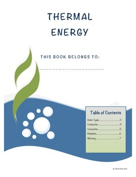 Thermal Energy Student Note Taking Booklet for Essential S