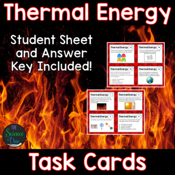 Thermal Energy Task Cards