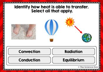 Thermal Energy Task Cards - Digital Boom Cards™