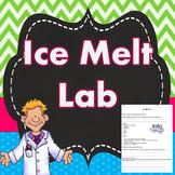 Thermal Energy Transfer Ice Melt Lab