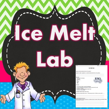 Thermal Energy Transfer Ice Melt Lab