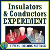 Heat Conductor Insulator Middle School Lab Activity NGSS MS-PS3-3
