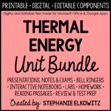 Thermal Energy and Heat Unit Bundle